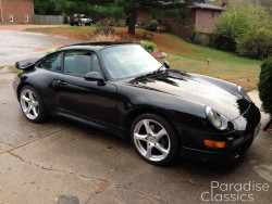 Black 1997 Porsche 911 Carrera 2S