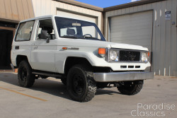 White 1985 Toyota Land Cruiser BJ70