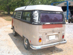 Brown 1970 Volkswagen Bus