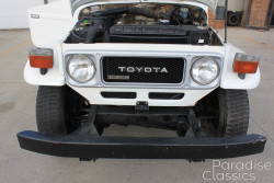 White 1981 Toyota Land Cruiser