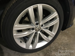 Black 2018 Volkswagen Passat Tire Rotation